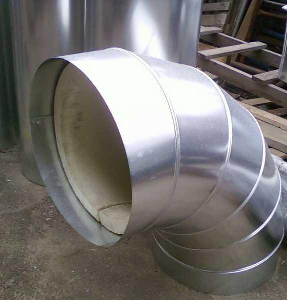 Окожушка для отвода из металла