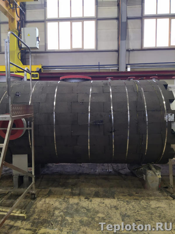 Теплоизоляция оборудования пеностеклом