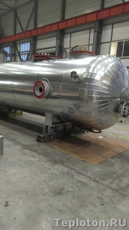 Теплоизоляция оборудования и металлопокрытие емкости