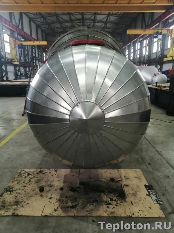 Теплоизоляция оборудования на производстве