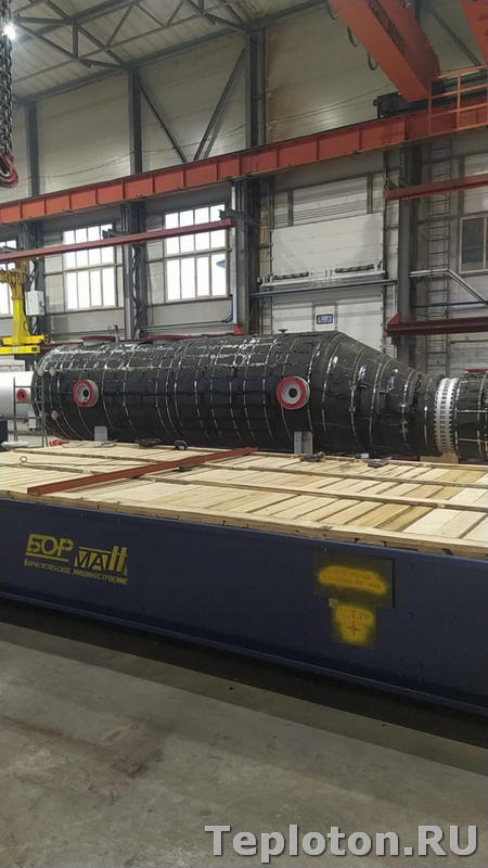 Теплоизоляция оборудования на заводе