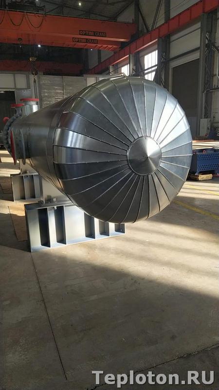 Теплоизоляция оборудования в готовом виде