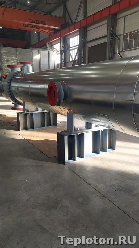 Боковая часть теплоизоляции оборудования