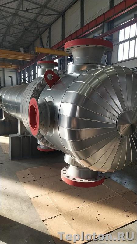 Сложный элемент теплоизоляции оборудования