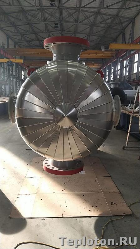 Теплоизоляция оборудования в готовом варианте