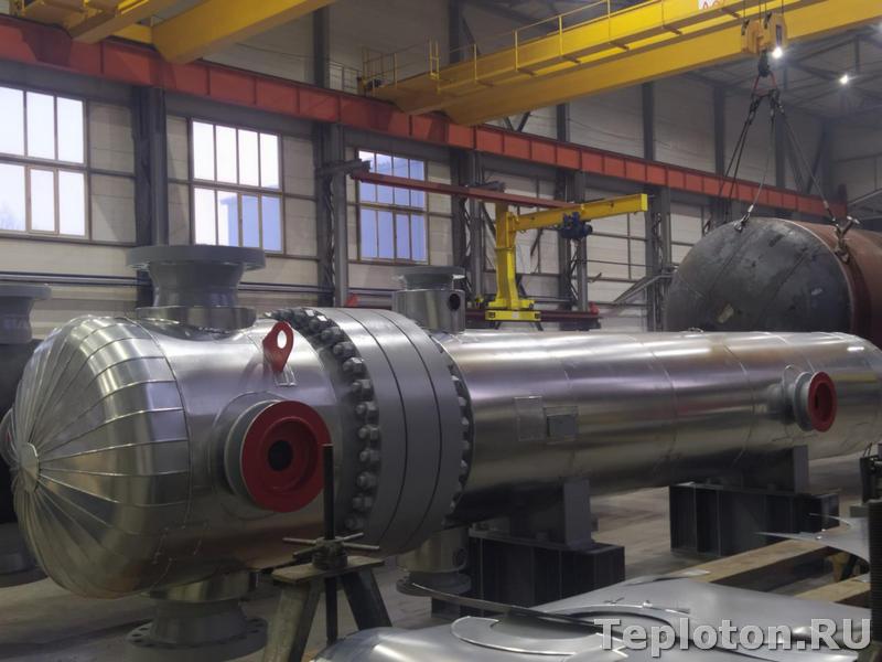 Финал монтажа теплоизоляции оборудования
