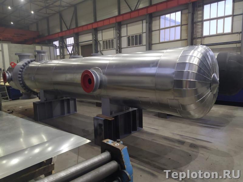 Теплоизоляция оборудования - окончание