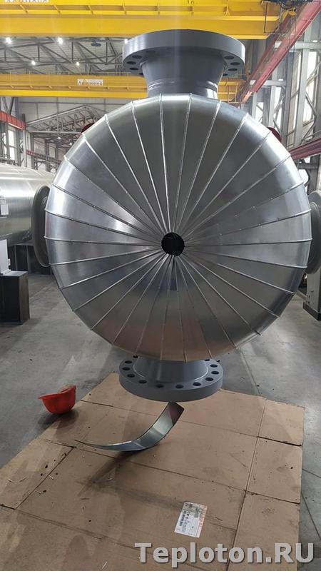 Теплоизоляция оборудования с торрца - незаконченное