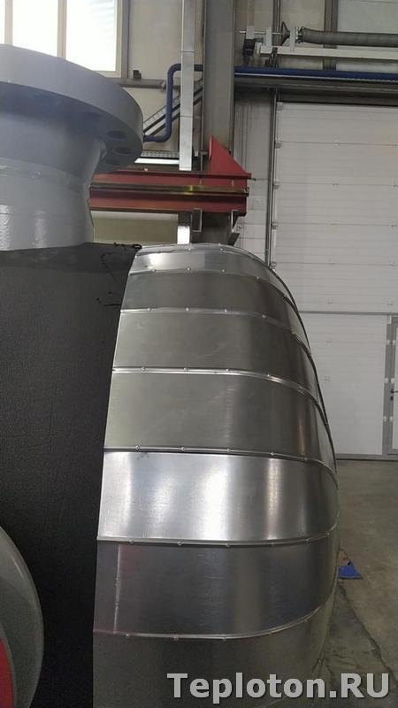 Теплоизоляция оборудования - лепестки