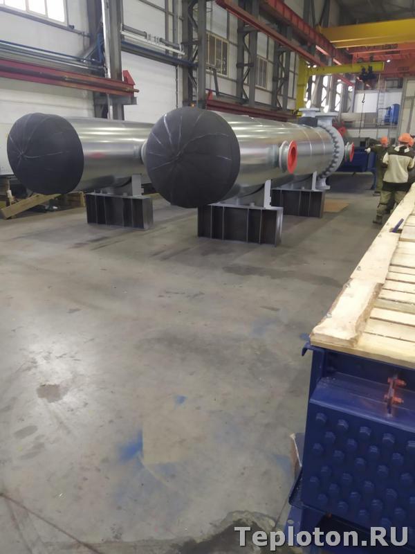 Теплоизоляция оборудования - две единицы