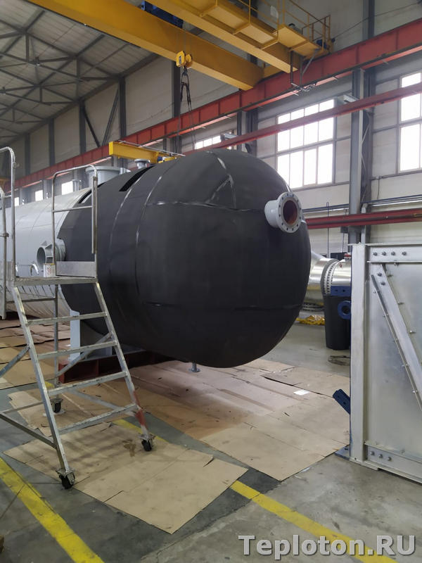 Теплоизоляция оборудования K-flex