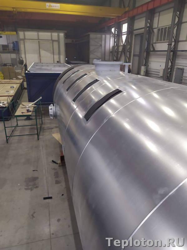 Теплоизоляция оборудования - с технологическими вырезами