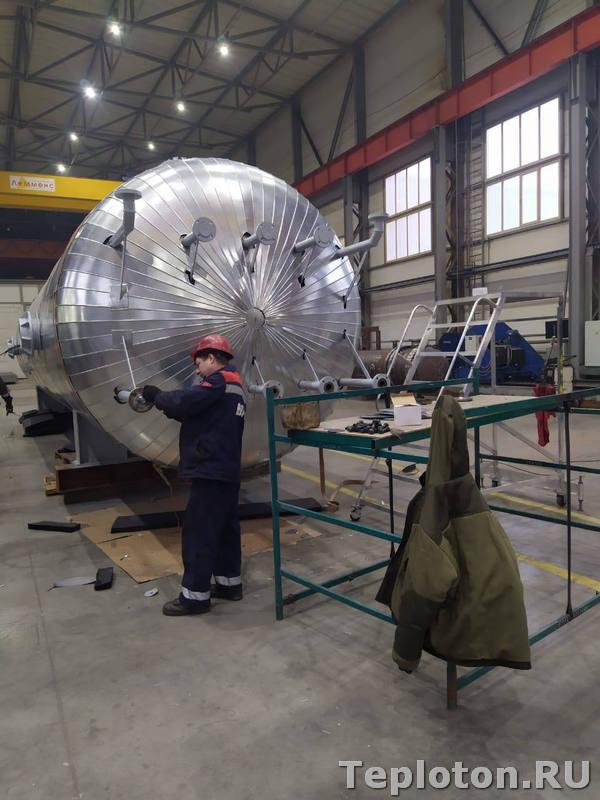 Теплоизоляция оборудования - повышенная сложность