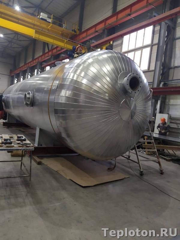 Теплоизоляция оборудования - завершение монтажа