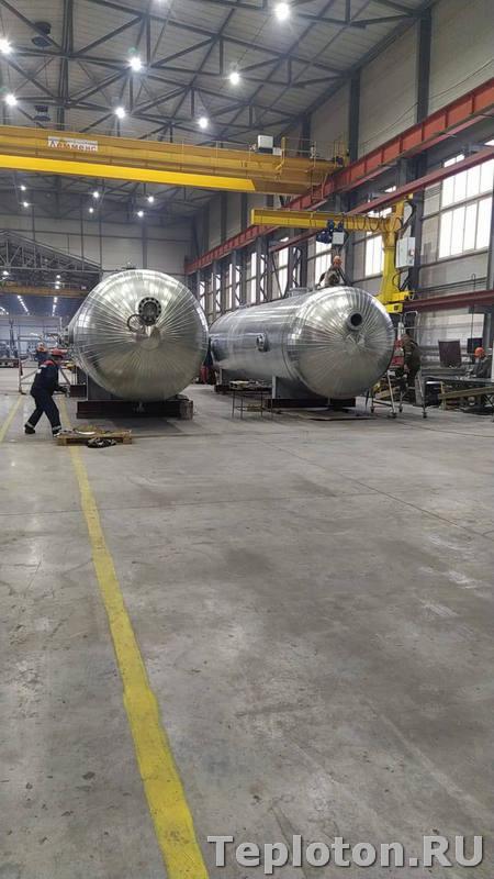 Теплоизоляция оборудования - цех по производству