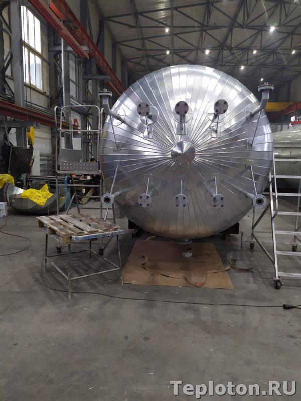 Теплоизоляция оборудования - уборка рабочего места