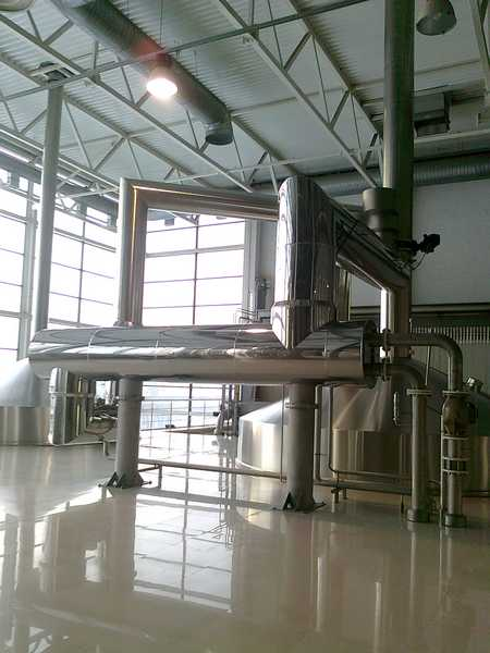 Теплоизоляция пивзавода