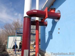 Теплоизоляция дымовой трубы и газоходов в Воронеже