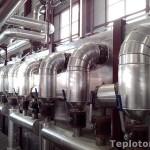 Отводы экстрактора. Теплоизоляция МЭЗ в Балаково